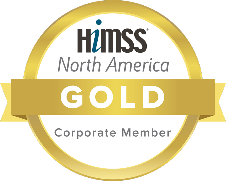 HIMSS Gold Corporate Member Logo